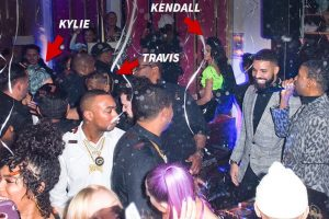 Kendall, Kylie and Travis Scott Party with Drake on NYE Despite Kanye West Feud
