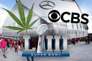 CBS Smokes Plans for Marijuana Ad During Super Bowl