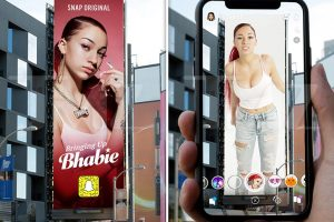 Danielle Bregoli Getting Augmented Reality Billboard in Los Angeles