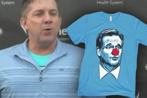 Barstool's PFT Commenter Says Sean Payton's Boosting Goodell Clown Shirt Sales
