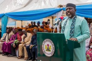 Those Pushing For Okorocha's Suspension From APC Are Fraudsters, Says Spokesman