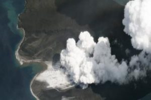 Anak Krakatau volcano: Satellites get clear view of collapse
