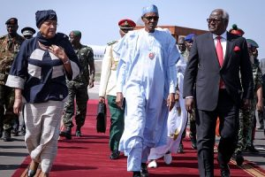 Buhari, John Mahama, Ellen Sirleaf Johnson and Others Arrive Gambia to Prevail on Yayha Jammeh to Hand Over Power (Photos)