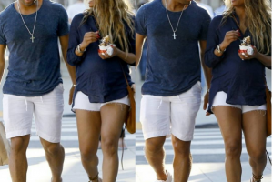 Ciara and Russell Wilson step out in matching outfits