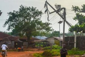 Emergency management (Increase wind pressure in port harcourt) (Electric poles falls at houses)