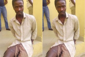 """""""I killed my mom so that I will have peace of mind, she's responsible for my misfortune"""" – Killer (Photos)"""