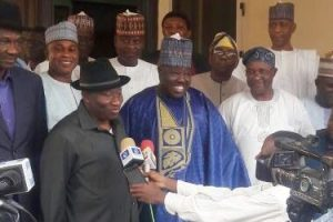 Jonathan endorses Sheriff as PDP chairman