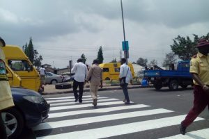 Lagos NYSC Corps Urge Motorists to Obey Traffic Rules, Provide Zebra Crossing