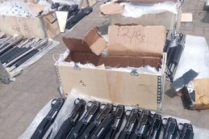 Nigeria Customs reportedly seize 49 boxes containing 661 pieces of pump action rifles