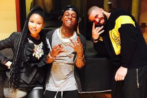 Now that Meek Mill is gone, Nicki Minaj & Drake reconcile (photos)