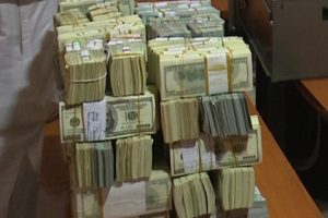 Photos: $9.8m cash recovered from ex-NNPC GMD