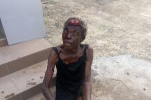 Photos: Cat allegedly turns into aged woman in Lagos