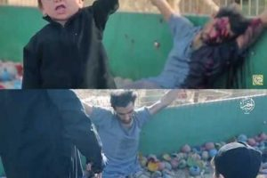 Photos & Video: Barbaric! ISIS uses toddler to execute prisoner in Syria