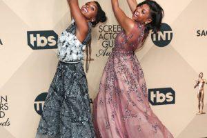 Red Carpet Photos! Viola Davis, Denzel Washington, Janelle Monae, Taraji P. Henson & More at the 2017 Screen Actors Guild Awards (Photos))