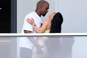 Kim Kardashian and Kanye West Take Their PDA to New Heights in Miami