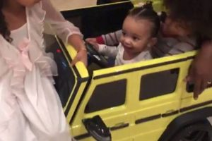 Kim Kardashian and Chicago West Now Have Matching Cars