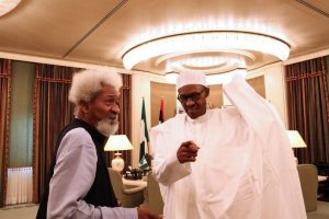 Soyinka to Police: Don't stop protest against Buhari