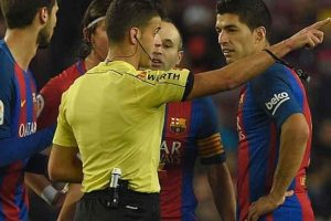 Suarez gets two match ban, to miss Copa Del Rey final says