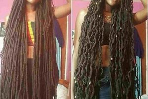 This Lady Claims She's Been Growing Her Dreads For 23 Years. (Photos)