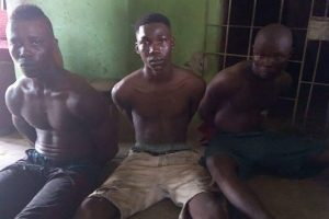 Three boys nabbed while attempting to rob a house in Delta State (Photos)