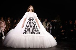 Viktor and Rolf Turned All Your Favorite Memes Into Couture Dresses