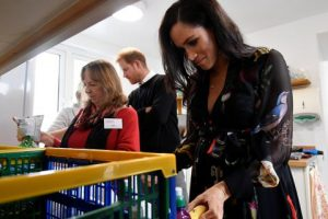 Meghan Markle Wrote Positive Messages on Bananas For Sex Workers