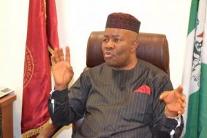 End Of The Road… Akpabio's Former Party Snatches His Senatorial Seat From Him