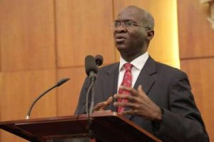 No Corrupt Contractors In Our Records, Fashola Replies SERAP