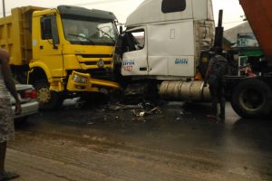 Deadly Truck Accident at Nta Road (Port harcourt) – See photos