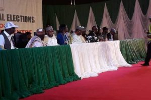 WATCH LIVE: INEC Announces Election Result Of 2019 Presidential Election