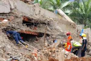 Two Dead In Lagos Building Collapse