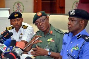 Military, Police Reconcile… Accept To Work Together For March 23 Supplementary Elections