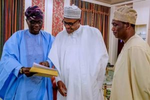 After Visiting Buhari In Abuja, Sanwo-Olu Addresses Collapse Of Buildings In Lagos