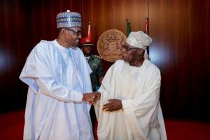 Regardless Of Our Differences, I Hold Obasanjo In High Esteem, Says Buhari
