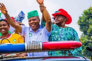 BREAKING: APC Not Even In Top Three As Emedioha Defeats Okorocha's Anointed In Imo