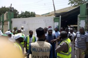 BREAKING: DSS, Police Begin Fresh Screening At INEC Collation Centre In Kano