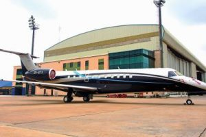 Private Jet Owned By Atedo Peterside Robbed At Lagos Airport