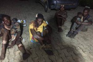 Soldiers Arrest Five Kidnappers Terrorising Ondo People During 1am Raid