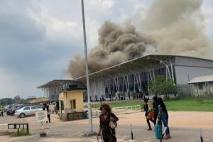 BREAKING: Fire Breaks Out At Imo Airport