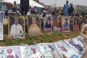 Tension In Abuja As Shi'ites Honour 998 'Fallen Martyrs' In Tears