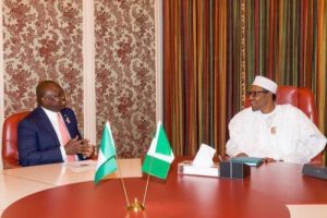 'I Am A Politician Now' Says Ambode After Visit To Buhari
