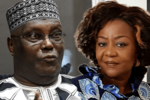 """Get Depressed Atiku His Pills, Stop Cooking Up Disgrace For Him"" Onochie Advises Atiku's Aides"