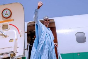 BREAKING: Buhari Departs London For Nigeria After London Medical Trip