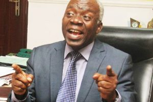 Falana Writes Buhari, Demands Release Of 40 Citizens Detained Illegally By The Navy
