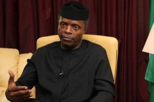 We Have Not Won The War Against Corruption VP. Osinbajo Confesses