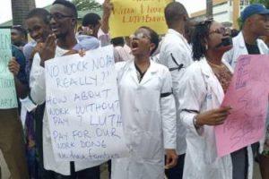 LUTH Resident Doctors Begin Indefinite Strike