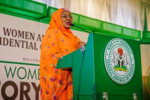 Aisha Buhari Tweets Cryptic Message Condemning President Buhari's Appointments