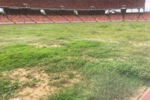 Shame Of June 12 Democracy Day: Grass Takes Over $360m MKO Abiola Stadium