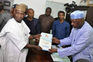 Yahaya Bello Pays N22.5 Million To Picks Kogi Governorship Form As Civil Servants, Pensioners Lament Unpaid Salaries