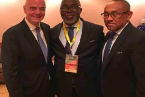NFF President Amaju Pinnick Reacts To Removal: I Have Differences Of Focus, Direction With CAF President